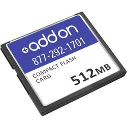 AddOn Cisco CISCO/512CF Compatible 512MB Factory Original Compact Fla