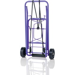 Conair Travel Smart TS36 Purple Folding Luggage Cart