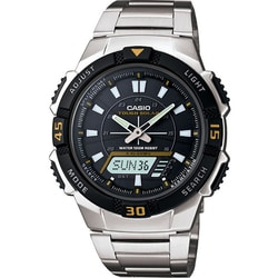 Casio Men's Self-charging Solar-powered Wristwatch - Thumbnail 0