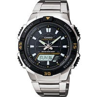 Casio  Men's Self-charging Solar-powered Wristwatch
