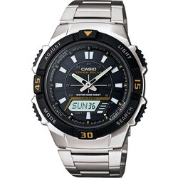 Casio AQS800WD-1EV Men's Self-charging Solar-powered Wristwatch