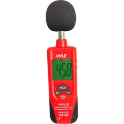 Pyle Sound Level Meter with A and C Frequency Weighting