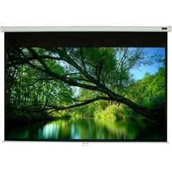 """EluneVision Triton Manual Projection Screen - 84"""" - 1:1 - Wall/Ceilin"""