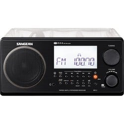 Sangean WR-2CL Portable Clock Radio - 7 W RMS - Stereo