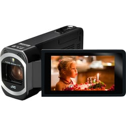 "JVC Everio GZ-V500BUS Digital Camcorder - 3"" - Touchscreen LCD - CMOS"
