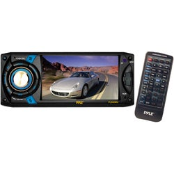 "Pyle PLD40MU Car DVD Player - 4.3"" Touchscreen LCD - 68 W RMS - Singl"