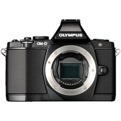 Olympus OM-D E-M5 16.1 Megapixel Mirrorless Camera (Body Only) - Blac