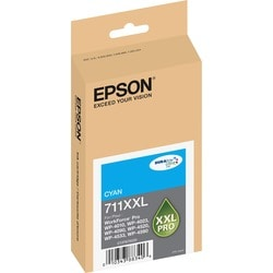 Epson DURABrite Ultra 711XXL Ink Cartridge - Cyan