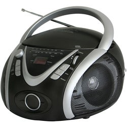 Naxa Portable MP3/CD Player with AM/FM Stereo Radio & USB Input