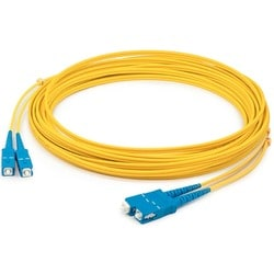 AddOn 5m Single-Mode Fiber (SMF) Duplex SC/SC OS1 Yellow Patch Cable