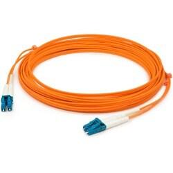 AddOn 3m Multi-Mode fiber (MMF) Duplex LC/LC OM1 Orange Patch Cable
