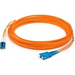 AddOn 1m Multi-Mode fiber (MMF) Duplex SC/LC OM1 Orange Patch Cable