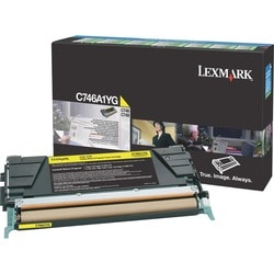 Lexmark Toner Cartridge (Yellow)