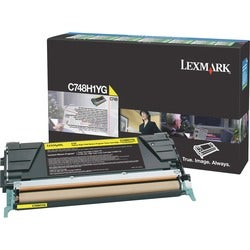 Lexmark Toner Cartridge - Yellow (1)