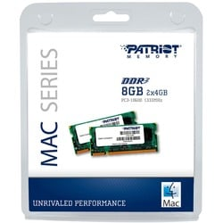 Patriot Memory 8GB (2 x 4GB) PC3-10600 (1333MHz) SODIMM Kit