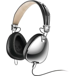 Skullcandy Aviator - Chrome/Black w/Mic