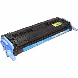 eReplacements Toner Cartridge - Alternative for HP (Q6001A) - Cyan -