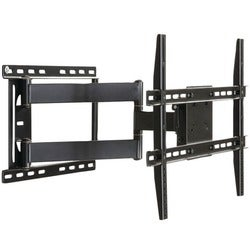 Atlantic Large Full Motion Articulating Black Mount for 19 to 80-inch Flat Screen TV