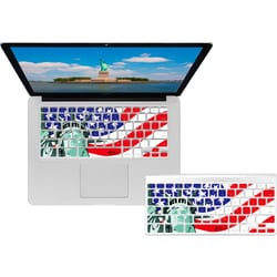 KB Covers Statue of Liberty/American Flag Keyboard Cover for MacBook/