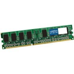 AddOn JEDEC Standard 2GB DDR3-1600MHz Unbuffered Dual Rank 1.5V 240-p