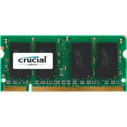 Crucial 1GB, 200-Pin SODIMM, DDR PC3200 Memory Module