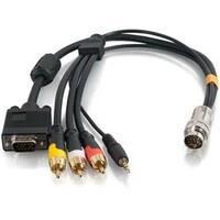 C2G 6ft RapidRun VGA (HD15) + 3.5mm + Composite Video + Stereo Audio