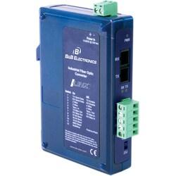 B+B Triple Isolated RS-232/422/485 To Single-Mode Fiber SC Converter