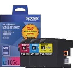 Brother Innobella LC1053PKS Tri-pack Ink Cartridge - Cyan, Magenta, Y|https://ak1.ostkcdn.com/images/products/etilize/images/250/1023275128.jpg?impolicy=medium