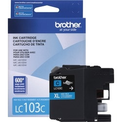 Brother Innobella LC103C Ink Cartridge - Cyan - Thumbnail 0