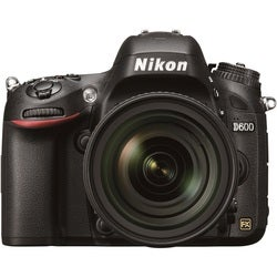 Nikon D600 24.3MP Digital SLR Camera (Body Only)