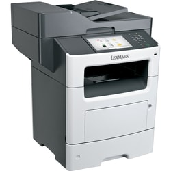 Lexmark MX611DHE Laser Multifunction Printer - Monochrome - Plain Pap