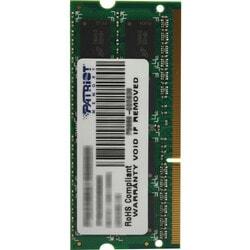 Patriot Memory DDR3 2GB PC3-10600 (1333MHz) SODIMM