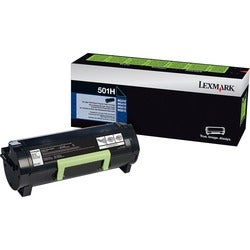 Lexmark Unison 501H Toner Cartridge - Black - Thumbnail 0
