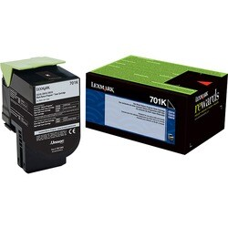 Lexmark Unison 701K Black Toner Cartridge