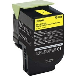 Lexmark Unison 701HY Toner Cartridge - Yellow