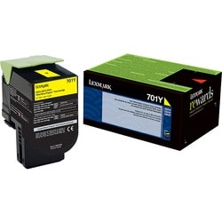 Lexmark 701Y Toner Cartridge - Yellow
