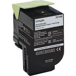 Lexmark Unison 701HK Toner Cartridge - Black