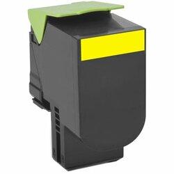 Lexmark Unison 800H4 Toner Cartridge - Yellow