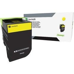 Lexmark Unison 800S4 Toner Cartridge - Yellow