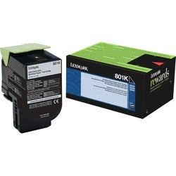 Lexmark Unison 801K Toner Cartridge - Black