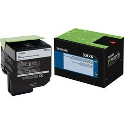 Lexmark Unison 801XK Toner Cartridge - Black