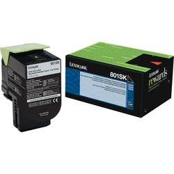 Lexmark Unison 801SK Toner Cartridge - Black