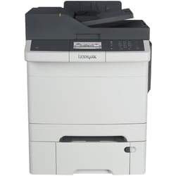 Lexmark CX410DTE Laser Multifunction Printer - Color - Plain Paper Pr
