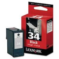 Lexmark Black Ink Cartridge - 475 Page - Black