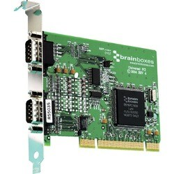 Brainboxes UC-357 2-port Universal PCI Serial Adapter
