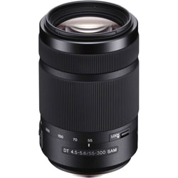 Sony SAL55300 55 mm - 300 mm f/4.5 - 5.6 Telephoto Zoom Lens for Sony