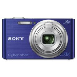 Sony Cyber Shot DSC-W730 16.1MP Blue Digital Camera