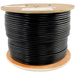Tripp Lite 1000ft Cat5 / Cat5e Bulk Cable Solid CMR PVC 350MHz Black