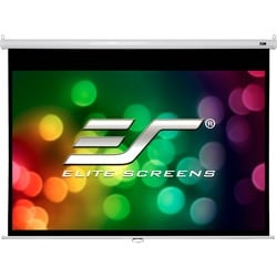 "Elite Screens M100XWH2-SRM Manual Projection Screen - 100"" - 16:9 - C"
