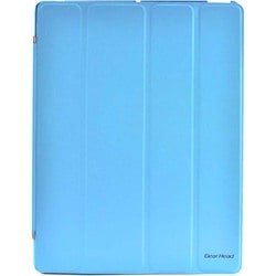 Gear Head FS4100BLU Carrying Case (Portfolio) for iPad - Blue